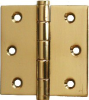 Solid Brass Small Butt Hinges with Removable Pin -- 897060