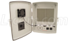 14x10x4 Inch 120 VAC INDOOR Weatherproof Enclosure with Cooling Fan -- NBP141004-10F - Image
