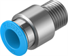 QS-1/4-10-I Push-in fitting -- 153018-Image