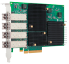 Gen 5 16GFC Quad-port Adapter for Slot Constrained Servers -- LPe16004 FC -- View Larger Image