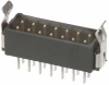 10+10 Pos. Male DIL Vertical Throughboard Conn. Latches -- M80-8532045 -- View Larger Image