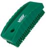 nail brush w/stiff bristle green -- 61579 -- View Larger Image