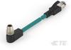M8/M12 Cable Assemblies -- TCX3882A202-002 -Image