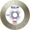 M K DIAMOND TX-30 Porcelain Blade for TX-3 Saw -- Model# 166967