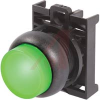 PUSHBUTTON, ILLUMINATED PUSHBUTTON, EXTENDED, MAINTAINED, GREEN BUTTON, BLACK BE -- 70057847