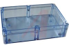 Enclosure,Transparent Blue Polycarbonate,NEMA,IEC52,IP65,9.45Lx6.30Wx3.54H in -- 70147787