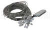 Cat. 3 Telco Breakout Cable, Male Telco / 25 (6x2), 3.0 ft -- TDC50M62