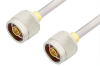 N Male to N Male Cable 24 Inch Length Using PE-SR401AL Coax -- PE3995-24 -Image