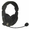 Stereo Headphones with Boom Microphone -- QHM 100