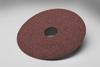 3M 381C Coated Aluminum Oxide Fibre Disc - Coarse Grade - 50 Grit - 4 1/2 in Diameter - 7/8 in Center Hole - 77597 -- 051144-77597 - Image