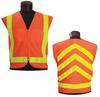 Jackson Safety Lime/Orange Medium/Large Solid High-Visibility & Reflective Vest - 711382-03235 -- 711382-03235