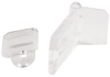 Clear Acrylic Hasp -- 44126 -- View Larger Image