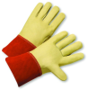 6000/L Premium Top Grain Cowhide Welder Gloves -- 662909-600004 - Image