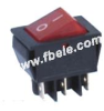 Double-poles Rocker Switch -- IRS-202-2A ON-OFF - Image