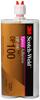 3M Scotch-Weld DP100 Epoxy Adhesive Clear 400 mL Duo-Pak Cartridge -- DP100 400ML DUO-PAK CLEAR -Image