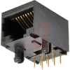 connector,modular jack,rj45 without shield,with ferrite filter,8 contact -- 70144958