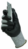 JACKSON SAFETY* G60 L5 Cut Resistant Gloves with Dyneema(R) Fiber, Black Polyurethane Coated -- 036000-98237