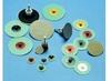 3M Roloc 6234J Coated Diamond Quick Change Disc - 10 Grit - 2 in Diameter - 85251 -- 051144-85251