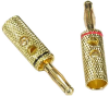 Banana Plug Gold Plated Metal -- 2012-SF-02 - Image