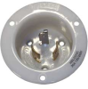 Flanged Inlet,Locking,3P,3W,20A,125/250V -- 3D107