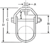 402 Series Standard Clevis Hanger PVC Coated -- 402 - 5160