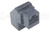 Modular Cat5e RJ45 Coupler (8x8), Unshielded -- UJ5T568