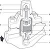 Bimetallic Steam Trap -- HP45 - Image