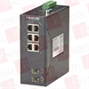 BLACK BOX CORP LEH906A-2SFP ( IND MNG ETHERNET SWITCH (6) 10/100MBPS (2) 100MBPS SFP DIN-RAIL DC ) -Image