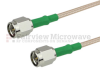 SMA Male to SMA Male Cable RG-316 Coax in 24 Inch and RoHS Compliant -- FMC0202315LF-24 -Image