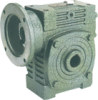 Casting Iron Worm reducers Inch Dimension -- Series WDKY