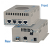 Six-Port Ethernet Switch with Two 10G Ports and Four 10/100/1000 Ports