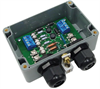 Weatherproof Lightning Surge Protector for RS-422/RS-485 & 24VDC Power Lines -- ALS-D25P24DW
