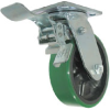 Total Locking Caster - Poly on Glass-Filled Nylon - Model 9A -- 9AUG4x2-ML