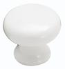 Amerock 902WHT - Round Plain Knob, Diameter 1-1/4