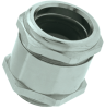 Nickel-Plated Brass Strain Relief Cable Glands with Earthing Sleeve for EMI Protection, PG & Metric Thread -- SKINDICHT® SHVE/SHVE-M - Image