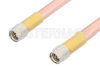 SMA Male to SMA Male Cable 18 Inch Length Using RG401 Coax, RoHS -- PE33003LF-18 -Image
