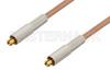 MC-Card Plug to MC-Card Plug Cable 24 Inch Length Using RG178 Coax, RoHS -- PE36116LF-24 -Image