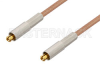 MC-Card Plug to MC-Card Plug Cable 24 Inch Length Using RG178 Coax, RoHS -- PE36116LF-24 -- View Larger Image
