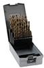 Jobber Drill Bit Set: heavy duty HSS-Co5, 1/16 to 1/2 inch dia., 29-pc -- 215851RO - Image