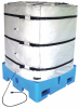 Adjustable Wrap-Around Tote Tank/IBC Bla -- GO-09302-05