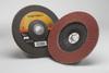 3M Cubitron II 967A Type 27 Coated Ceramic Aluminum Oxide Flap Disc - 40 Grit - 7 in Diameter - 55611 -- 051141-55611 - Image