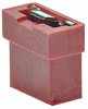 2 Pos. Female Jumper Socket, Open Shunt, Red -- M22-1920046 -- View Larger Image