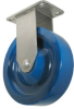 Stainless Rigid Caster - Solid Polyurethane Wheel - Model 3 -- SS-3AP5x1-1/4-R
