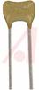 CAPACITOR CERAMIC , RADIAL .10UF, 100V,10%, X7R -- 70195714 - Image