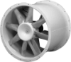 Direct Drive Vaneaxial Fan -- AVD