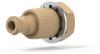 Bulkhead Quick Stop Luer Check Valve -- P-699 - Image