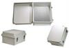 14x12x7 Inch Weatherproof NEMA 4X Enclosure with Blank Non-Metallic Mounting Plate -- NB141207-KIT01 -Image