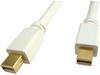 3' Male to Male Mini DisplayPort Cable -- 184014 - Image