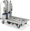 Automated Delivery Cart -- L-CART AGV