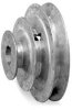 V-Belt Pulley,4,3,2 In OD,5/8 Bore,3 Stp -- 4X559